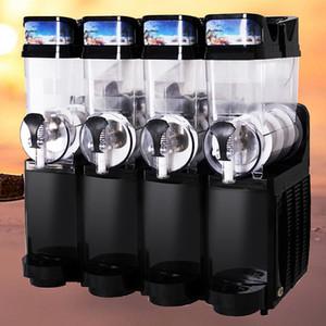 4 Танки Ледяные Слянистые Машины Интеллектуальная температура Контроль Температуры Бегство Таяния Коммерческий Ледяной Слячок Машина Замороженные Пить