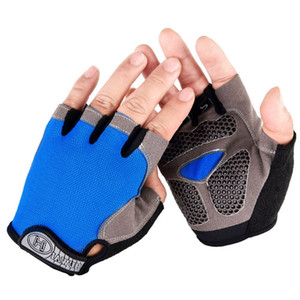 Cycling Gloves Anti-slip Men Women Half Finger Gloves Breathable Summer Sports Gloves GEL MTB Bike Bicycle Glove L XL