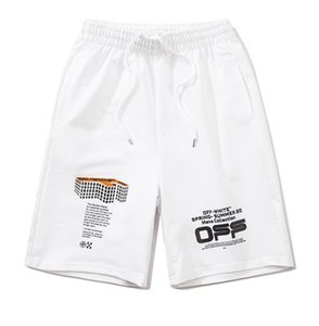 Spring and summer new off series popular three-dimensional three-dimensional arrow alternative five-point shorts M L XL XXL