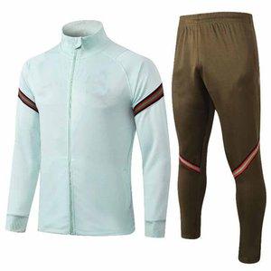20 21 Portuga formation costume football Jersey 2020 2021 kit adulte chemises de football de l'équipe nationale de qualité supérieure Survêtement jeu adulte bleu siz e S-2XL