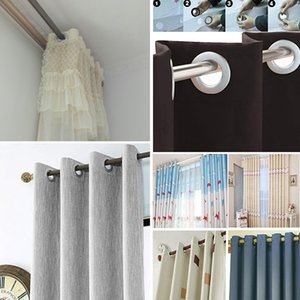 10pcs Curtain Grommet Top Rings Eyelet Low Noise Drapery Eyelets High Quality Home Decoration Window Curtain Accessories
