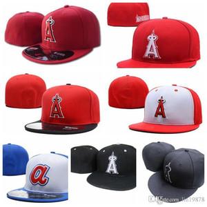 2019 Estate New Angeli Una lettera berretti da baseball Gorras ossa di donne esterna casuale di sport misura i cappelli