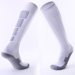 Adulto antideslizante de Fútbol medias gruesas medias de toalla desgaste con el de la rodilla cómoda y calcetines de los deportes al por mayor de la fábrica