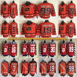 كل ستار خمر الفانس 99 Gretzky 19 Yzerman 16 هال 30 بيلفور 1 الوالدين 5potvin 31 سميث 11 مودير هوكي CCM جيرسي