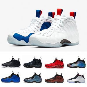 Nike Air Foamposite Pro one Viola Camo USA Penny Hardaway Uomo Scarpe da pallacanestro Abalone Doernbecher Ben Gordon Paranorman foam one Alternate Galaxy mens Sport Sneakers