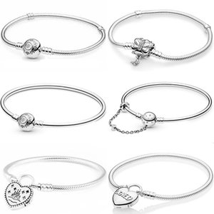 Princess Jasmine & Aladdin World Park Castlel Love Heart Bracelet Bangle Fit 925 Sterling Silver Bead Charm Europe Diy Jewelry