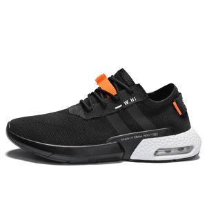 2020 Mens Tennis Shoes Air Cushion Mesh Comfortable Lace Up Sneakers Sport Maschile Atletica Allenatori Tenis Masculino Canestri Homme