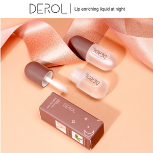 Dropshipping DEROL High quality Peppermint Lip Balm Enriches Plump Lip Moisturizing Lipstick Essence Toot Lip Gloss Makeup Cosmetic L5502