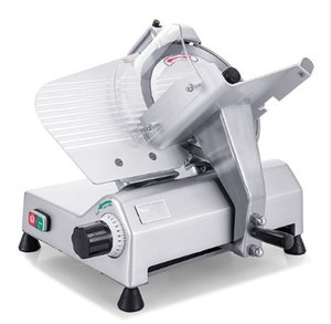Mutton Meat Slicer Commercial Meat Planer Slicing Machine 10.5 Inches Automatic Lamb Kebab Roll Beef Roll Grinder LLFA