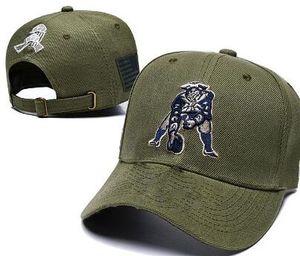 Al por mayor de Camo Saludo al servicio sombrero de EE.UU. bandera de New England NE Snapback ajustable de los sombreros de verano al aire libre de los hombres de fútbol casquillo casquillos mujeres baratas