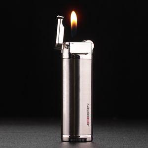 친구에 대한 부동의 불꽃 연마 휠 리필 라이터 선물 Jobon 크리 에이 티브 부탄 라이터