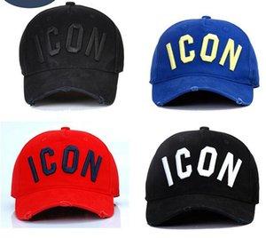 DSQICOND2 ICON التقط قبعة الوراء البيسبول كاب snapback القبعات قبعات رجال نساء رجال SNAPBACKS القبعات القطن غطاء رمز عارضة الرياضة الكبار الكرة أفضل هدية