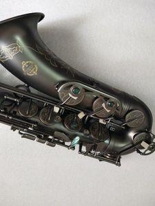 Livello professionale strumento di qualità giapponese Suzuki Sassofono Tenore Bb Black Music Sassofono dell'oro nichel con boccaglio Reed Caso