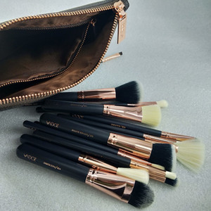 Hot Sale New Brand Brush 15pcs Set Professional Makeup Brush Set Eyeshadow Eyeliner Blending Pencil Cosmetics Tools With Bag brushes
