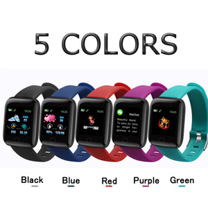 Wholesale New D13 Smart Watches 116 Plus Heart Rate Watch Smart Wristband Sports Watches Smart Band Waterproof Smartwatch Android