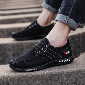2019 Satış Yeni Yüksek kaliteli Basit Style5 Ucuz Kumaş beyaz mavi eğitmenler Rahat Koyu Gri Erkek Spor ayakkabı Gündelik Spor ayakkabılar 38-46