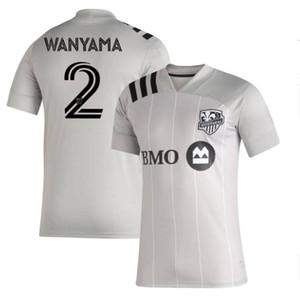 Ücretsiz kargo 2019 2020 yeni Montreal Etki Ev futbol forması tayland kaliteli 19 20 DROGBA EDWARDS PIATTI futbol formaları gömlek