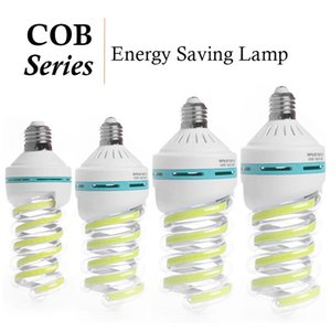 E27 COB Corn лампа спираль LED Энергосберегающие фары лампочки 5W 9W 16W 20W 24W 32W 40W Люстра свечи лампада Bombillas