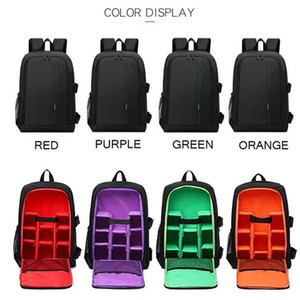 Camera Bag Backpack Inch Size for Canon 5D 7D DSLR Cameras Mirrorless Cameras Lens Flashes Tripod Other Accessories