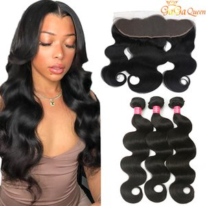 Lace Lace Ear Wave Body Bundles With To Unprocessed Frontal Ear Brazilian Hair Human Frontal Closure With 13x4 Hair Bundles Xpfvr