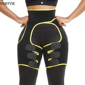 VERTVIE Slim Thigh Trimmer Leg Shapers Slender Emagrecking Belt Neoprene Sweat Shapewear Toned Muscles Band Thigh Slimmer Wrap