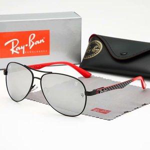 Hot Sale Good quality 8313 Men Sunglasses Txrppr Driving Sun glasses Gold Metal Frame Green UV400 Come box