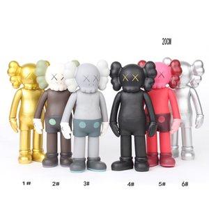 Nouveau 6 Styles populaires Mand Kaws joueur Poupées carte Mannequin Pièces Doll Set Pieces ConTEXTE OriginalFake 20CM