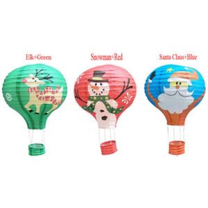 12 '' Hot Natal casamento da festa de aniversário da lanterna de papel dos balões de ar Prom Decor New