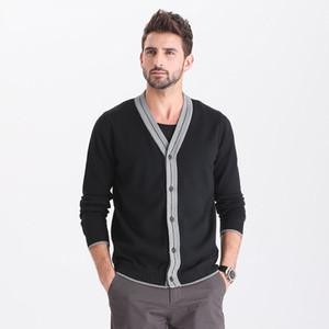 TFU Uomini 2020 della molla Spesso nuovo modo Business Casual Cardigan Uomo Marca Outwear caldo inverno Autunno maglione Jumper