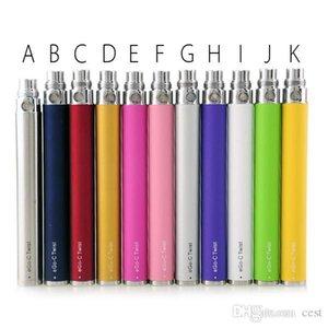 eGo-c Twist Battery E Cigarette Kit Variable Voltage Battery 3.2-4.8V 650mAh 900mAh 1100mAh eGo Kits For CE4 MT3 Tank Electronic Cigarette