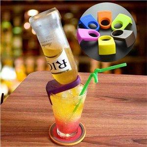 Botella ABS hebilla de cerveza Cocktail Bar Bar Snap titulares clips de botella de la bebida del vino herramientas accesorios de cocina de cocina DHB650