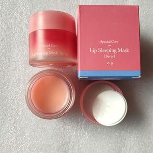 Lip Balm Laneige Lip Care Cosmetic Special Care Lip Sleeping Mask LipBalm Lipstick Moisturizing Lipcare mask20g