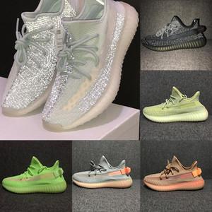 Bulut Beyazı Yansıtıcı Erkekler Kadınlar Sneaker Stockx Bred Beluga 2,0 Sitrin Pompa Siyah Statik Yeşil Gid Yansıtıcı Kanye West Sneakers