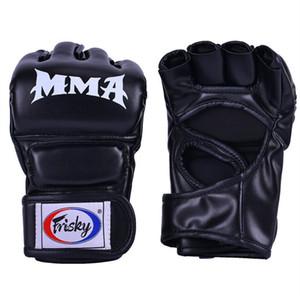Guantoni da boxe Kick Fighting MMA Sport Guanti in pelle PU Muay Thai box lotta mma guanti boxe sanda boxe pad