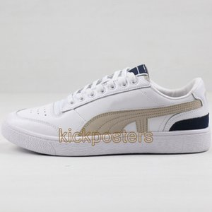 New Ralph Sampson Low OG Utility Suede Pastel Running Shoes Mens Fashion Designer White Trainer Sneakers Womens Black Athletic Shoe US6-11.5