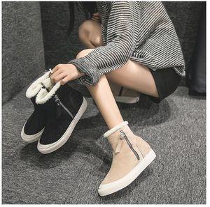 Baby, Kids Maternity Athletic Outdoor Взрыв моделей в зимних снежных ботинках женские теплые модные удобные снежные ботинки черного цвета