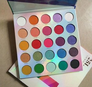 DHL 12pcs Makeup palette 25colors Eyeshadow Palette 25L live in color high quality Eye shadow