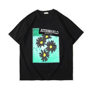 Estate camicie da uomo Designer donne di estate 2020 casuale manica corta High Street Nuovo crisantemo di stampa di modo di marca