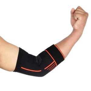 Doğa Sporları Dirsek Desteği Unisex Ayraç Pad Aid Kayış Muhafız Wrap Band Spor koruyucu dişli bandaj Dirsek Desteği