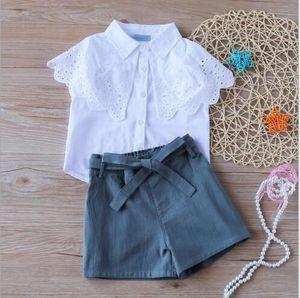 2020 Nuovo di successo ins estate maglia usura shirt e pantaloncini a farfalla per bambini una dimensione diretta di vendita della fabbricazione