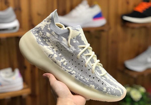 Mens Kanye West V3 Alien Trainers Sneakers Womens Sports Running Shoe Chaussures Pour Hommes Baskets Femmes