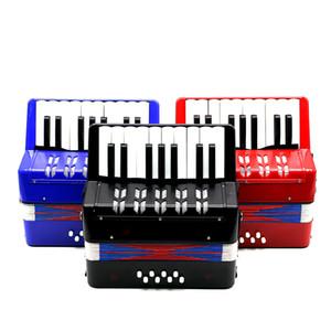 Enfants Enfants 17-Key 8 Basse Mini Petit Accordéon Instrument de musique éducation Rhythm Band Toy Y200428