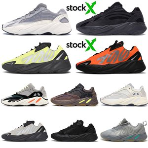 kanye west Black Statico Antlia Synth Cream White Uomo Running Sneakers Gid Glow Clay True Form Designer Scarpe Sport Scarpe da donna 5-13
