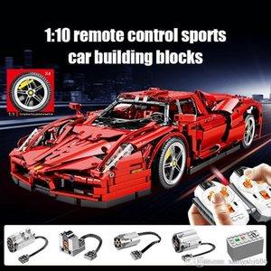 2615pcs İl Uzaktan Kumandalı Araba Yarışı MOC Modeli Yapı Taşları Boy için Legoingly Technic RC Spor Araba Creator Tuğlalar Oyuncaklar için