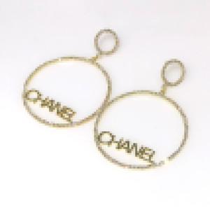 Moda orecchini a cerchio caldo di vendita geometrica Dichiarazione Orecchini per le donne ipoallergenico oro grande rotonda gioielli Q9 anelli di orecchio