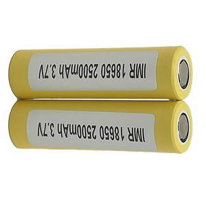 Meilleure qualité 18650 batterie LG HE4 2500mah 35A chargeur plat Fit Ecig 200 w Mod Fedex Free Ship