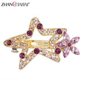 Luxy Austria Rhinestones Hair Pins Cute star Women Hair Clip Wedding Bridal Accessories Girls Jewelry With Gift box Dropshipping CX200704