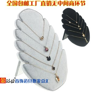 Exquisite Jewelry Display Board Flame Necklace Pendant Display Stand Counter Jewelry Display Props