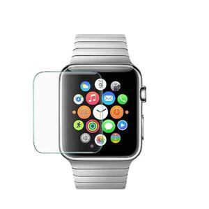 Совместимо для Apple Watch Прозрачное закаленное стекло 42мм 38мм 44мм 40мм Серия 4 3 2 1 9H Твердость Защитный экран от царапин
