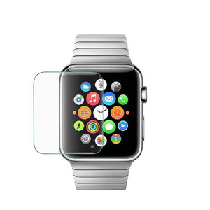 Compatible para Apple Watch Cristal templado transparente 42 mm 38 mm 44 mm 40 mm Serie 4 3 2 1 9H Dureza Protector de pantalla antirrayas